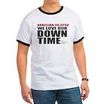 BJJ Down Time Ringer T