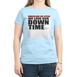 BJJ Down Time Women's Light T-Shirt