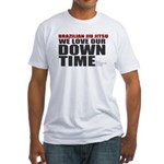 BJJ Down Time Fitted T-Shirt