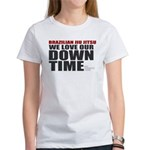 BJJ Down Time Women's T-Shirt