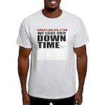 BJJ Down Time Light T-Shirt