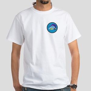 Fishin Definition White T-Shirt