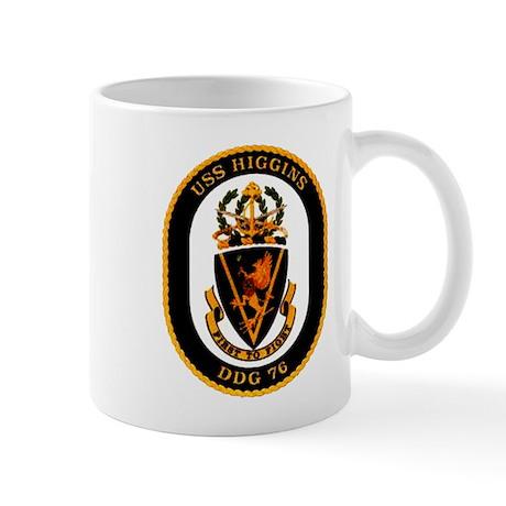 USS Higgins DDG-76 Navy Ship Mug
