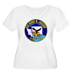 USS Henry M. Jackson SSBN 730 Navy Ship T-Shirt