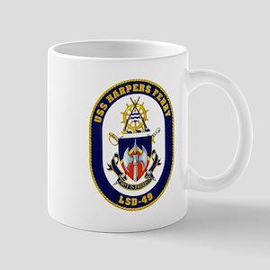 USS Harpers Ferry LSD-49 Navy Ship Mug