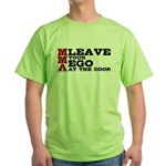 MMA Leave your ego Green T-Shirt
