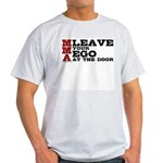 MMA Leave your ego Light T-Shirt