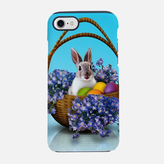 Easter Bunny Basket iPhone 7 Tough Case