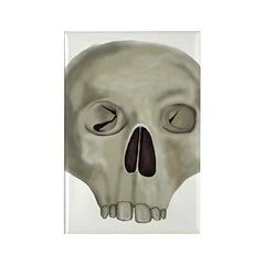 Skull Rectangle Magnet