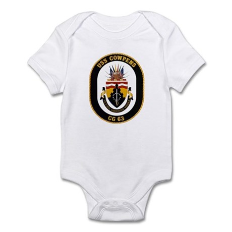 USS Cowpens CG-63 Navy Ship Infant Bodysuit