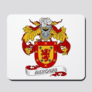 Mercado Coat of Arms Mousepad