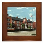 Emerson School Framed Tile