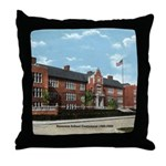 Emerson School Throw Pillow