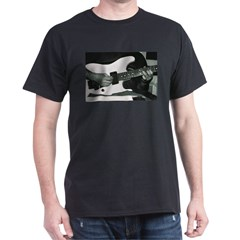 Play Guitar Black T-Shirt