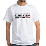 BJJ Submission Machine White T-Shirt