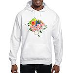 Jiu Jitsu Chick Hooded Sweatshirt