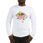 Jiu Jitsu Chick Long Sleeve T-Shirt