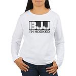 BJJ I'm Hooked Women's Long Sleeve T-Shirt