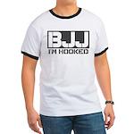 BJJ I'm Hooked Ringer T
