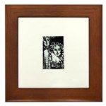Night Life Framed Tile