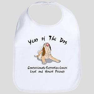 Funny Year of The Dog Bib
