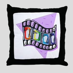 Queer Film Strip Throw Pillow