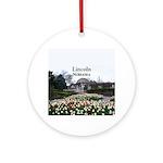 Lincoln Nebraska Round Ornament