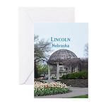 Lincoln Nebraska Greeting Cards (Pk of 20)
