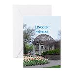 Lincoln Nebraska Greeting Cards (Pk of 10)