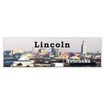 Lincoln Nebraska Sticker (Bumper 10 pk)