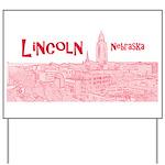 Lincoln Nebraska Yard Sign