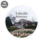 """Lincoln Nebraska 3.5"""" Button (10 pack)"""