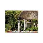 Lincoln Nebraska Rectangle Magnet (100 pack)