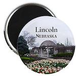 """Lincoln Nebraska 2.25"""" Magnet (100 pack)"""