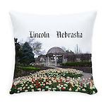 Lincoln Nebraska Everyday Pillow