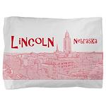 Lincoln Nebraska Pillow Sham