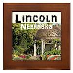 Lincoln Nebraska Framed Tile