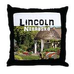 Lincoln Nebraska Throw Pillow