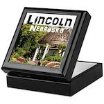 Lincoln Nebraska Keepsake Box
