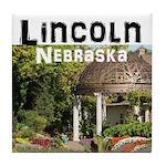Lincoln Nebraska Tile Coaster