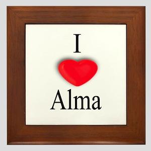 Alma Framed Tile