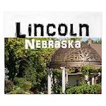 Lincoln Nebraska King Duvet