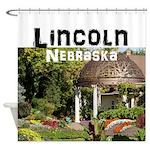 Lincoln Nebraska Shower Curtain