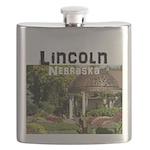 Lincoln Nebraska Flask