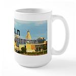 Lincoln Nebraska 15 oz Ceramic Large Mug