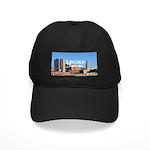 Lincoln Nebraska Black Cap with Patch