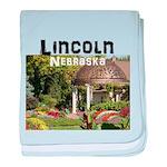 Lincoln Nebraska baby blanket
