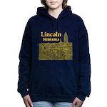 Lincoln Nebraska Women's Hooded Sweatshirt