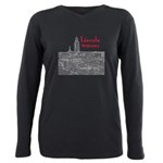 Lincoln Nebraska Plus Size Long Sleeve Tee