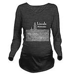 Lincoln Nebraska Long Sleeve Maternity T-Shirt